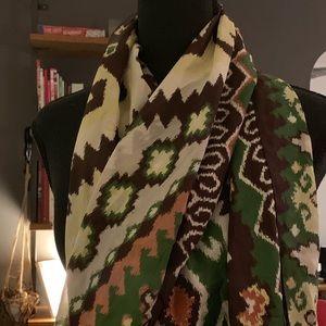 Altea scarf. 100% silk. Gorgeous, generous size.